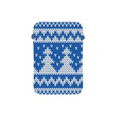 Knitted Fabric Christmas Pattern Vector Apple Ipad Mini Protective Soft Cases