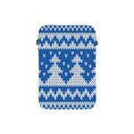 Knitted Fabric Christmas Pattern Vector Apple iPad Mini Protective Soft Cases Front