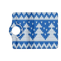 Knitted Fabric Christmas Pattern Vector Kindle Fire Hd (2013) Flip 360 Case