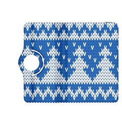 Knitted Fabric Christmas Pattern Vector Kindle Fire Hdx 8 9  Flip 360 Case
