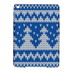 Knitted Fabric Christmas Pattern Vector Ipad Air 2 Hardshell Cases