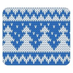 Knitted Fabric Christmas Pattern Vector Double Sided Flano Blanket (small)