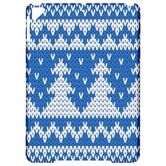 Knitted Fabric Christmas Pattern Vector Apple Ipad Pro 9 7   Hardshell Case