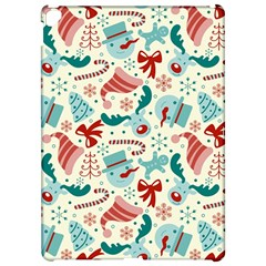 Pattern Christmas Elements Seamless Vector       Apple iPad Pro 12.9   Hardshell Case