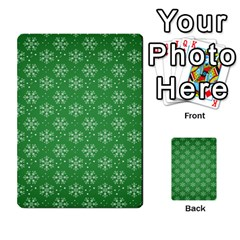 Snowflake Vector Pattern Multi-purpose Cards (Rectangle)