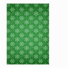 Snowflake Vector Pattern Small Garden Flag (two Sides)