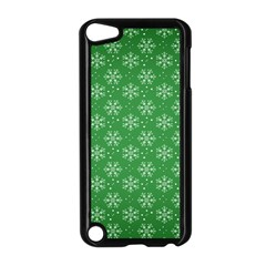 Snowflake Vector Pattern Apple Ipod Touch 5 Case (black)