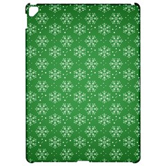 Snowflake Vector Pattern Apple Ipad Pro 12 9   Hardshell Case