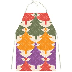 Tree Christmas Pattern Full Print Aprons