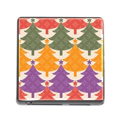 Tree Christmas Pattern Memory Card Reader (square)