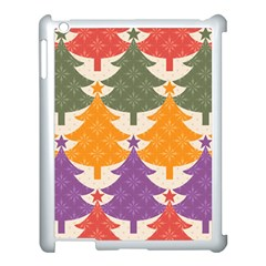 Tree Christmas Pattern Apple Ipad 3/4 Case (white)