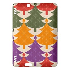 Tree Christmas Pattern Kindle Fire Hdx Hardshell Case