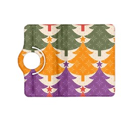 Tree Christmas Pattern Kindle Fire Hd (2013) Flip 360 Case