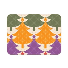 Tree Christmas Pattern Double Sided Flano Blanket (mini)