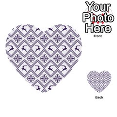 Simple Christmas Pattern Seamless Vectors  Multi Purpose Cards (heart)