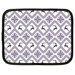 Simple Christmas Pattern Seamless Vectors  Netbook Case (large)