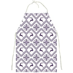 Simple Christmas Pattern Seamless Vectors  Full Print Aprons