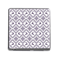 Simple Christmas Pattern Seamless Vectors  Memory Card Reader (square)