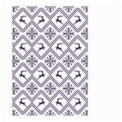 Simple Christmas Pattern Seamless Vectors  Small Garden Flag (two Sides)