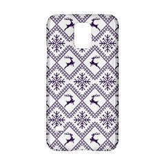 Simple Christmas Pattern Seamless Vectors  Samsung Galaxy S5 Hardshell Case