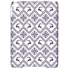 Simple Christmas Pattern Seamless Vectors  Apple Ipad Pro 9 7   Hardshell Case