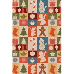 Xmas  Cute Christmas Seamless Pattern 5 5  X 8 5  Notebooks