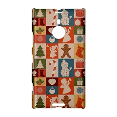 Xmas  Cute Christmas Seamless Pattern Nokia Lumia 1520