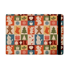 Xmas  Cute Christmas Seamless Pattern Ipad Mini 2 Flip Cases