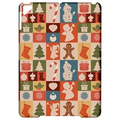 Xmas  Cute Christmas Seamless Pattern Apple iPad Pro 9.7   Hardshell Case