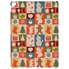 Xmas  Cute Christmas Seamless Pattern Apple iPad Pro 12.9   Hardshell Case