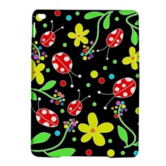 Flowers And Ladybugs Ipad Air 2 Hardshell Cases