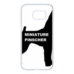Min Pin Silo Name Samsung Galaxy S7 edge White Seamless Case
