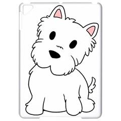 Westie Cartoon Apple iPad Pro 9.7   Hardshell Case