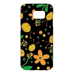Ladybugs and flowers 3 Samsung Galaxy S7 Edge Hardshell Case
