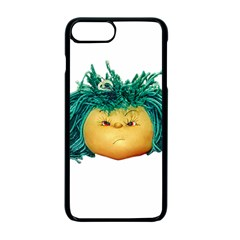 Angry Girl Doll Apple Iphone 7 Plus Seamless Case (black)