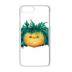 Angry Girl Doll Apple Iphone 7 Plus White Seamless Case