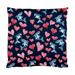 Shark Lover Standard Cushion Case (two Sides)