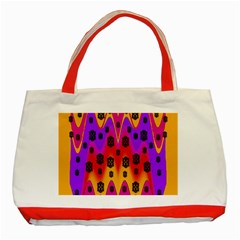 The Big City Classic Tote Bag (red)