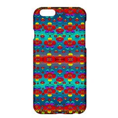 Peace Flowers And Rainbows In The Sky Apple Iphone 6 Plus/6s Plus Hardshell Case