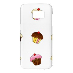 Colorful cupcakes  Samsung Galaxy S7 Edge Hardshell Case