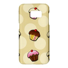 Colorful cupcakes pattern Samsung Galaxy S7 Hardshell Case
