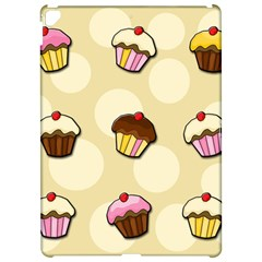 Colorful cupcakes pattern Apple iPad Pro 12.9   Hardshell Case