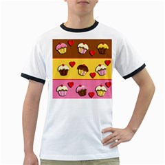 Love cupcakes Ringer T-Shirts