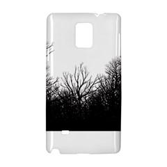 The dark mist Samsung Galaxy Note 4 Hardshell Case
