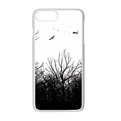 The Dark Mist Apple Iphone 7 Plus White Seamless Case
