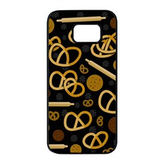 Bakery 2 Samsung Galaxy S7 edge Black Seamless Case