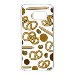 Bakery 3 Samsung Galaxy S7 White Seamless Case