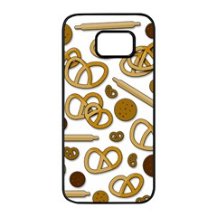Bakery 3 Samsung Galaxy S7 edge Black Seamless Case