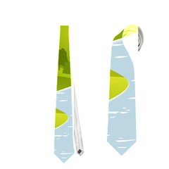 Scenery Neckties (two Side)