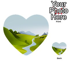 Scenery Multi Purpose Cards (heart)
